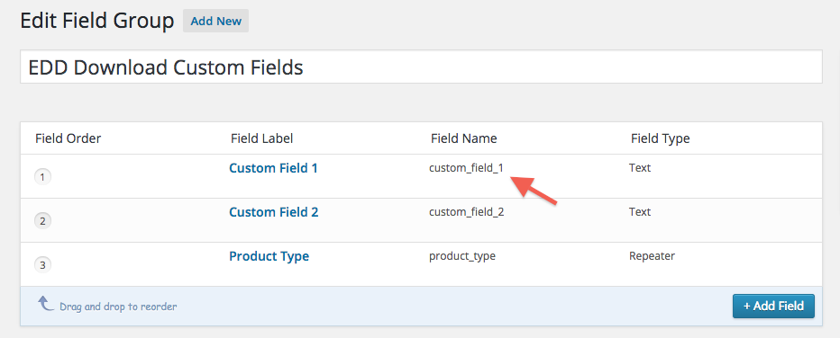 Gravity Forms dynamically populate dropdown with ACF field data